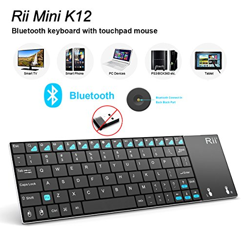 Portable Wireless Bluetooth Keyboard Stainless