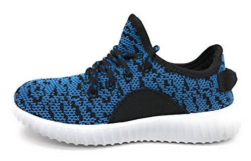 Blue Berry EASY21 Damen und Kinder Breathable Fashion Sneakers Casual Slip-on Loafers Sportschuhe Sportschuhe Türkis