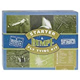 Starter Fly Tying Kit with Instructions, Tools and Materials for the Novice Fly Tyer