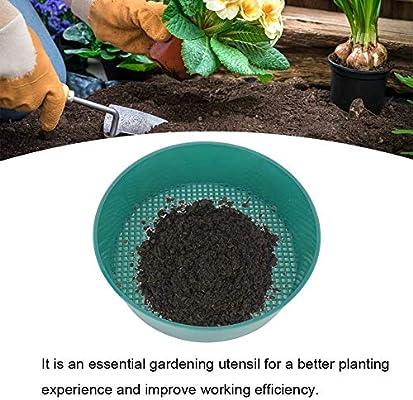 4pcs Tamizar Pan Plástico Pantalla Malla Jardín Tamiz Jardinería Plantas Suculentas Herramienta Filtro Piedra Arena: Amazon.es: Hogar