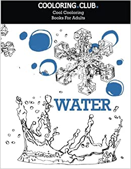 Amazon.com: Water: adult coloring book (Cool coloring books ...