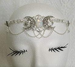 Opalite Triple Moon Circlet handmade jew...
