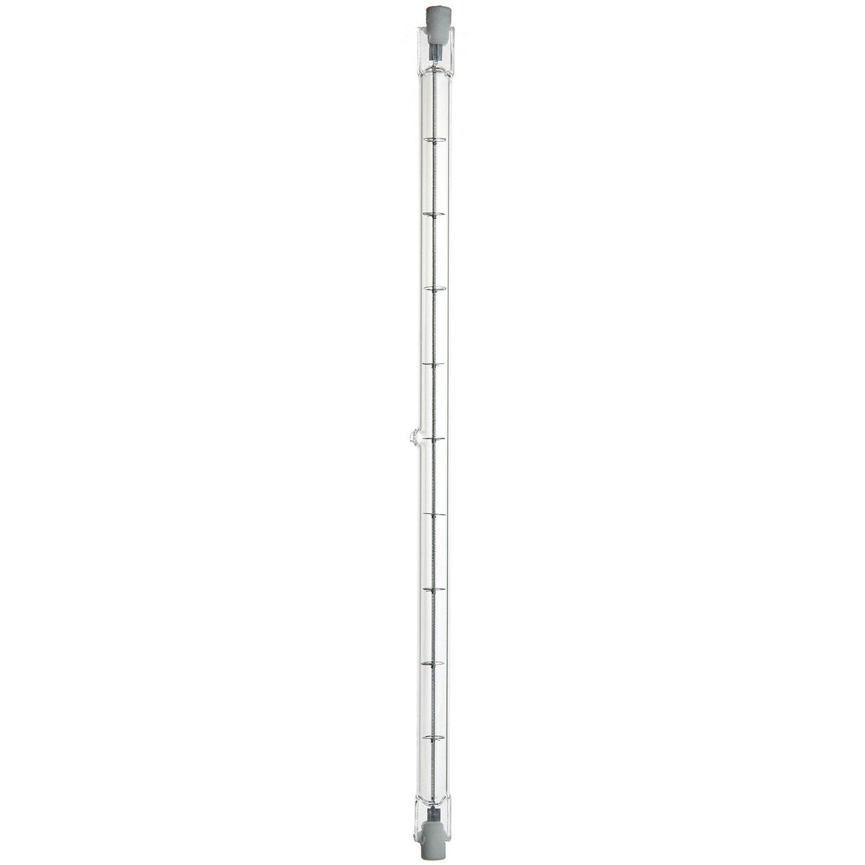 Sunlite Q1500T3/CL/240V 1500-Watt Halogen Double-Ended T3 240-Volt Bulb, Clear