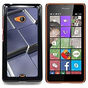 For Microsoft Nokia Lumia 540 N540 - Abstract Metal Cubes /Modelo de la piel protectora de la cubierta del caso/ - Super Marley Shop -