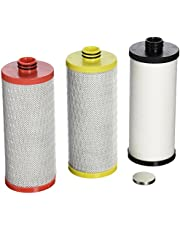 Aquasana AQ-5300R 3-Stage Max Flow Under Sink Water Filter Replacement Cartridges