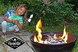 (5) Extra Long 45'' Campfire Roasting Sticks | Telescoping Marshmallow Sticks | Hot Dog Roasting Sticks | Comes with Traveling Pack | BONUS 10 Bamboo Skewers | Full Customer Warranty
