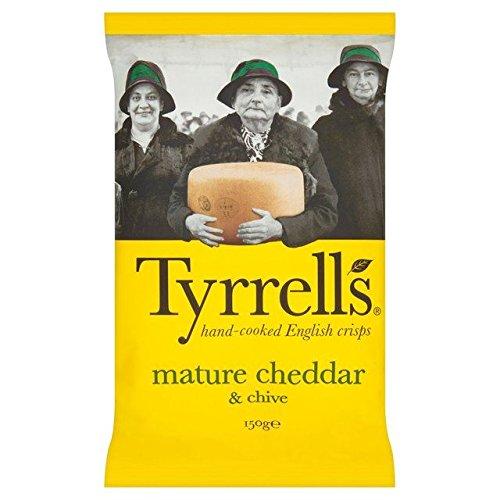 Tyrrells Cheddar & Chives Crisps - 150g ()