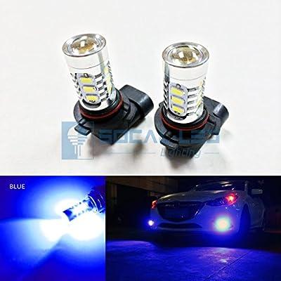 SOCAL-LED 2x LED Fog Light Bulb 15W SMD 5730 12V High Power Bright DRL Bulbs