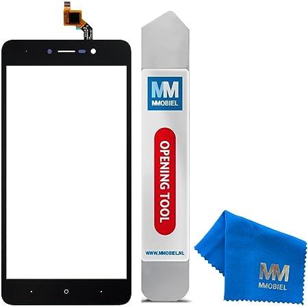 MMOBIEL Kit de Reemplazo Digitalizador de Pantalla Táctil Compatible con Wiko Lenny 4 (Negro) 5.0 Pulg Incl Herramientas