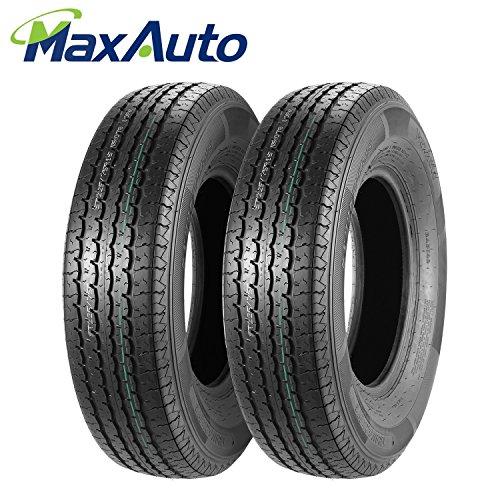 Set of 2 ST 225/75R15 DOT Trailer Tires 225/75R-15 22575R15 10Ply, Load Range E
