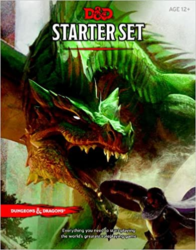 Dungeons and Dragons Starter Box (Dandd Boxed Game)