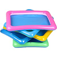 Sanwooden Interesting Toy Sand Tray Outdoor Beach Kids Children Sand Mud Model Toys Storage Inflatable Pad Box Tray Toys for All Ages