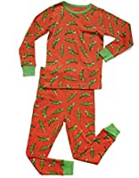 Leveret Big Boys 2 Piece Children Pajama 100% Cotton (Size 6-14 Years)