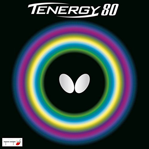 Butterfly Table Tennis Rubber Tenergy 80 2 1 Mm Black