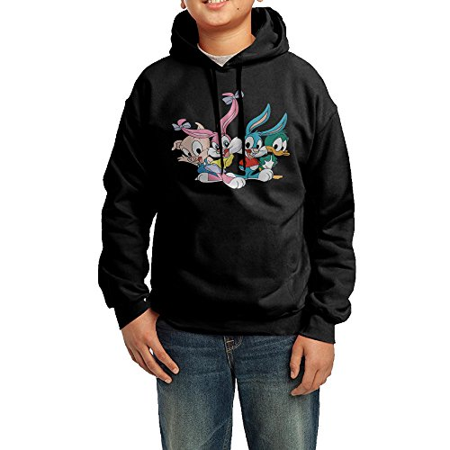 Toon Hoody - Boys/Girls Tiny Toon Adventures Design Hoodie Sweatshirt