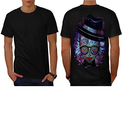 [Fantasia Lady Print Crazy World Men NEW M T-shirt Back | Wellcoda] (Spider Costume Pattern Free)