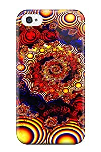 Alex D. Ulrich's Shop Discount For Iphone Protective Case, High Quality For Iphone 4/4s Fractal Skin Case Cover 7041597K64976713