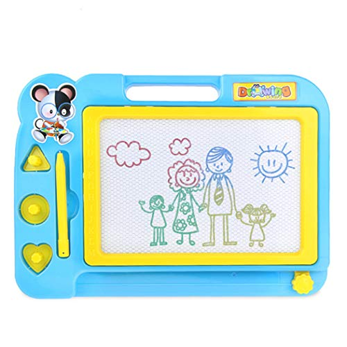Blueis Puzzle Children Kid Magnetic Writing Painting Drawing Graffiti Board Toy Drawing & Sketch Pads