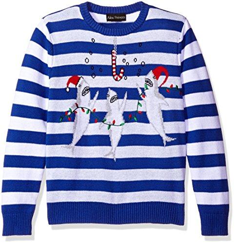 Alex Stevens Boys Shark Party Sweater