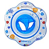 【Random color】 moinkerin Children Baby Infant Kids Toddler Inflatable Round Seat Float Swim Ring Swimming Flipper circle for Swim Help 1-5 Years old