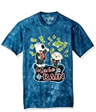 Liquid Blue Unisex-Adult's The Family Guy Make It Rain Money Tie Dye Ss T-Shirt, Blue, Small