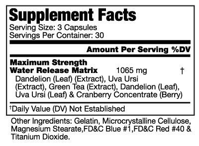BeautyFit BeautyRetic, Maximum Strength Natural Diuretic For Women, 60 capsules by BeautyFit (Image #1)