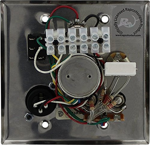 Pro Co Sound AVP1VSTS A/V Interface Plate Stainless Steel with Volume