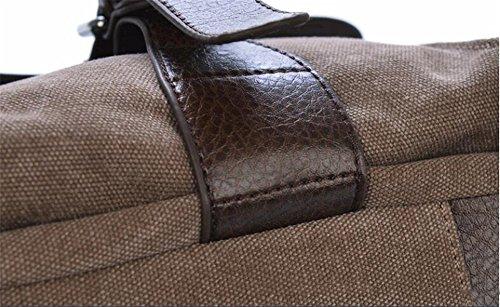 Bag Brown brown ANUAN Diagonal Bolso Bandolera q8wF1SZ