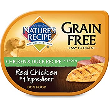 Natures recipe wet dog food grain free chicken duck recipe in natures recipe wet dog food grain free chicken duck recipe in broth 12 pack 275 oz forumfinder Choice Image