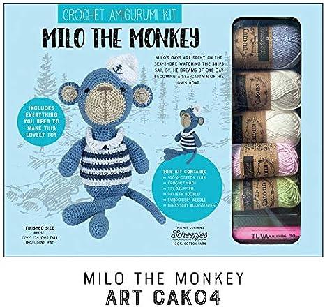 Amazon.com: Kurtzy Crochet Thread (42 Pcs) - (5 Grams, 80.9 Yards ... | 436x466