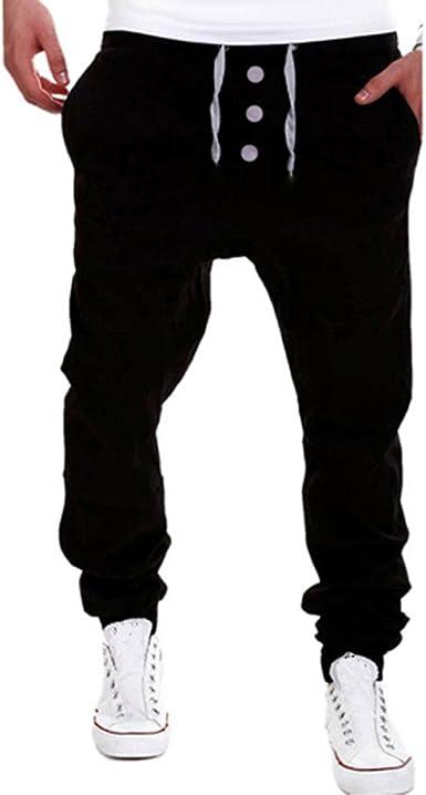 Pantalones Casuales para Hombre Pantalón Deportivo Jogger Hip ...