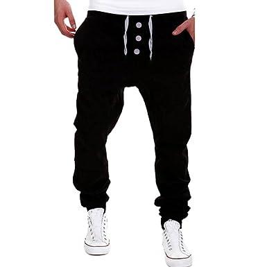 169f059b1907 Sweatpants For Men,Clearance Sale-Farjing Mens Trousers Sweatpants Harem Pants  Slacks Casual Jogger Dance Sportwear at Amazon Men s Clothing store
