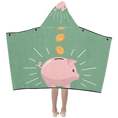 Amazon.com: Rosa cerdo banco dinero suave algodón caliente ...
