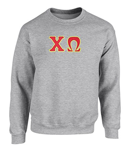 Greek Embroidered Sweatshirts - 8
