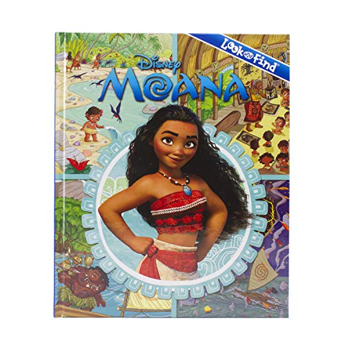 Disney Moana Look and Find Book - PI Kids -