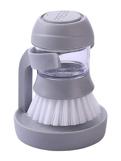 XWSQ Cepillo de Limpieza Dispensador de Jabón Dispensador ...