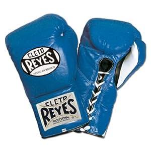 Ringside Cleto Reyes Safetec Professional Fight Gloves, 10 oz, Blue
