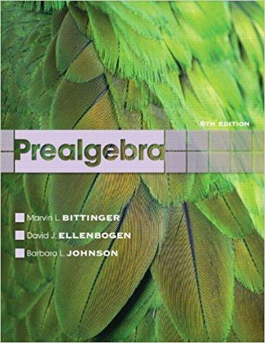 Prealgebra, 6Th/E