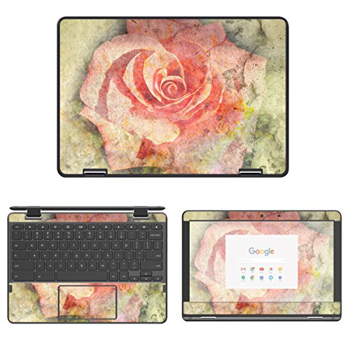 Decalrus - Protective Decal Rose Skin Sticker for Lenovo N23