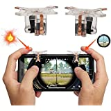 Mobile Game Controller, Mulan (2 Pair) PUGB Mobile Physical Support Triggers Sensitive Shoot