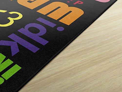 Amazon.com: Flagship Carpets FM207-34A Text Mix Black: Industrial & Scientific