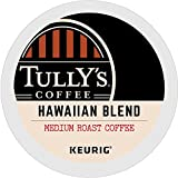 hawaiian coffee cup - Tully's Coffee Hawaiian Blend Keurig Single-Serve K-Cup Pods, Medium Roast Coffee, 72 Count (6 Boxes of 12 Pods)