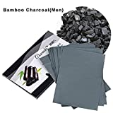 Tissue Paper 80Pcs/pack Makeup Cleaning Oil Absorbing Face Paper Oil Blotting Sheets Facial Cleaner Face Tools 4 Styles (BambooCharcoal)