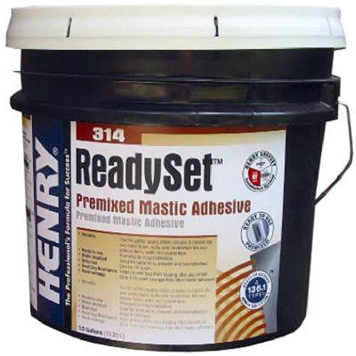 (Henry, WW Company 12257# #314 3.5GAL Adhesive)