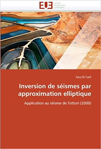 Inversion de séismes par approximation elliptique: Application au séisme de Tottori (2000)