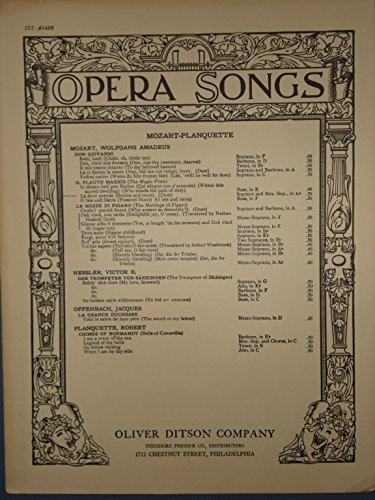 La dove prende (Smiles and Tears) Duet for Soprano and Mezzo-Soprano from The Magic Flute ()