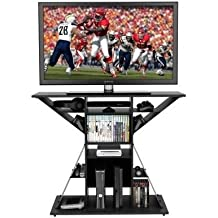 """TV Video Game Stand, Gaming Storage Rack Hub Console for 42"""", Xbox, PS3, PS4. Perfect Size For Any Living Room Or Bedroom In Your Home."""