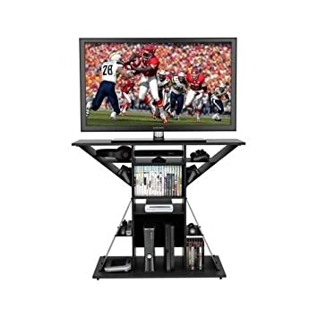 TV Video Game Stand, Gaming Storage Rack Hub Console For 42u0026quot;, Xbox,