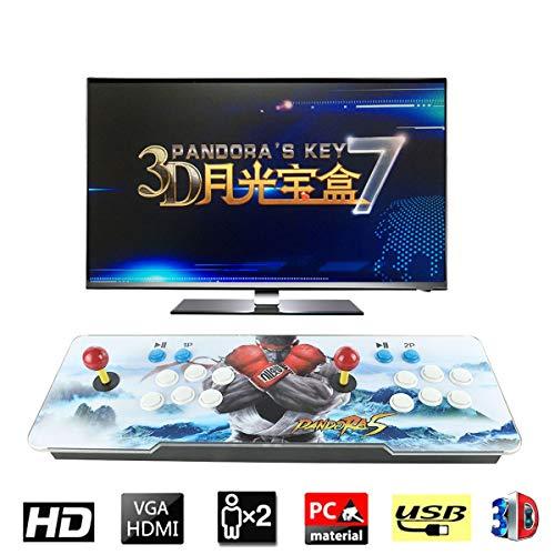 3D Pandora's Key 7 Retro Arcade Game Console | Includes 2177 HD Games | Full HD (1920x1080) Video