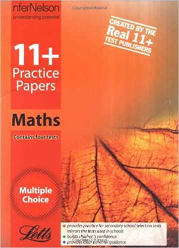 11+ Practice Papers, Multiple-choice Mathematics Pack: Contains 4 Tests